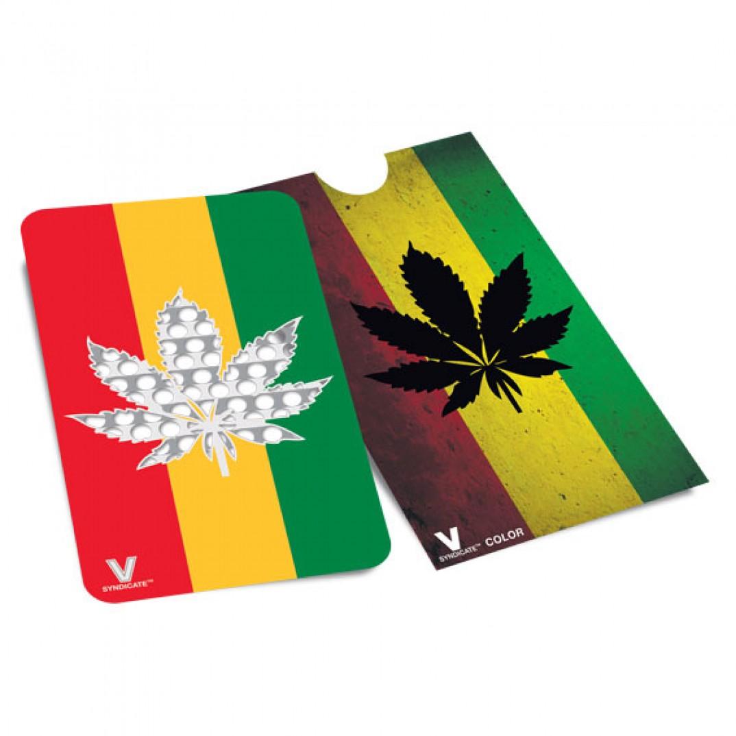 Karta Rasta Liść Marihuany