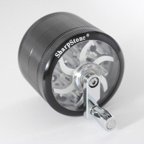 Młynek Sharpstone Turbowheel Grinder Czarny (Ø64mm 4 części)