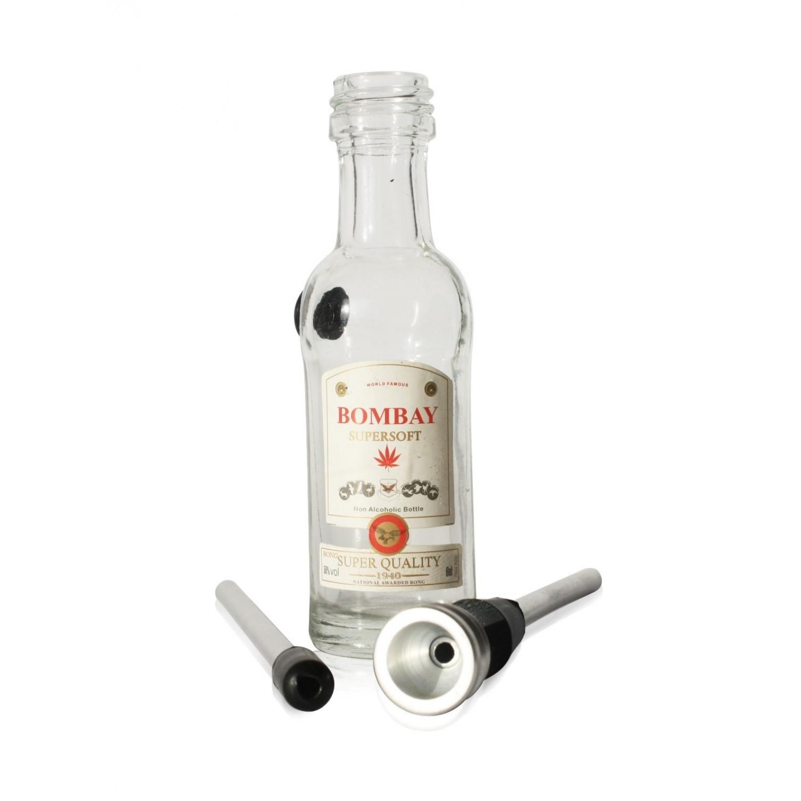 mini Bongo szklane Butelka Gin
